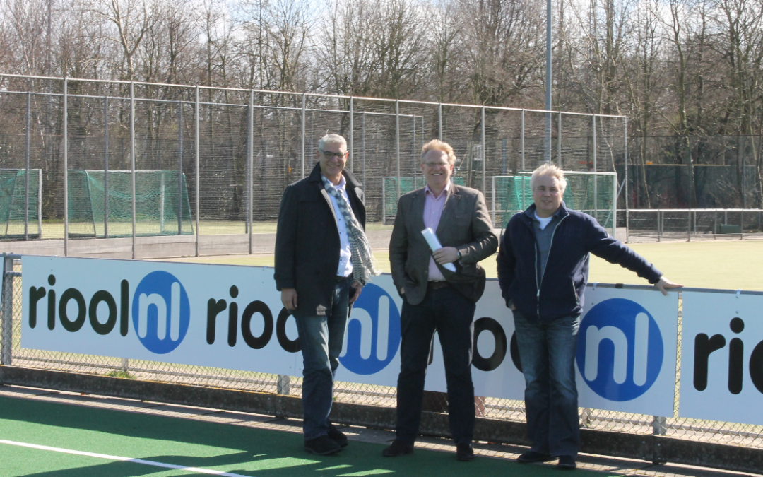 Trotse sponsor van Hockeyclub LOHC Leiden
