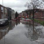 overstroming, sinkhole, riool.nl, waterleiding, hoofdwaterleiding