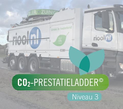 Riool.nl gecertificeerd voor CO2-Prestatieladder