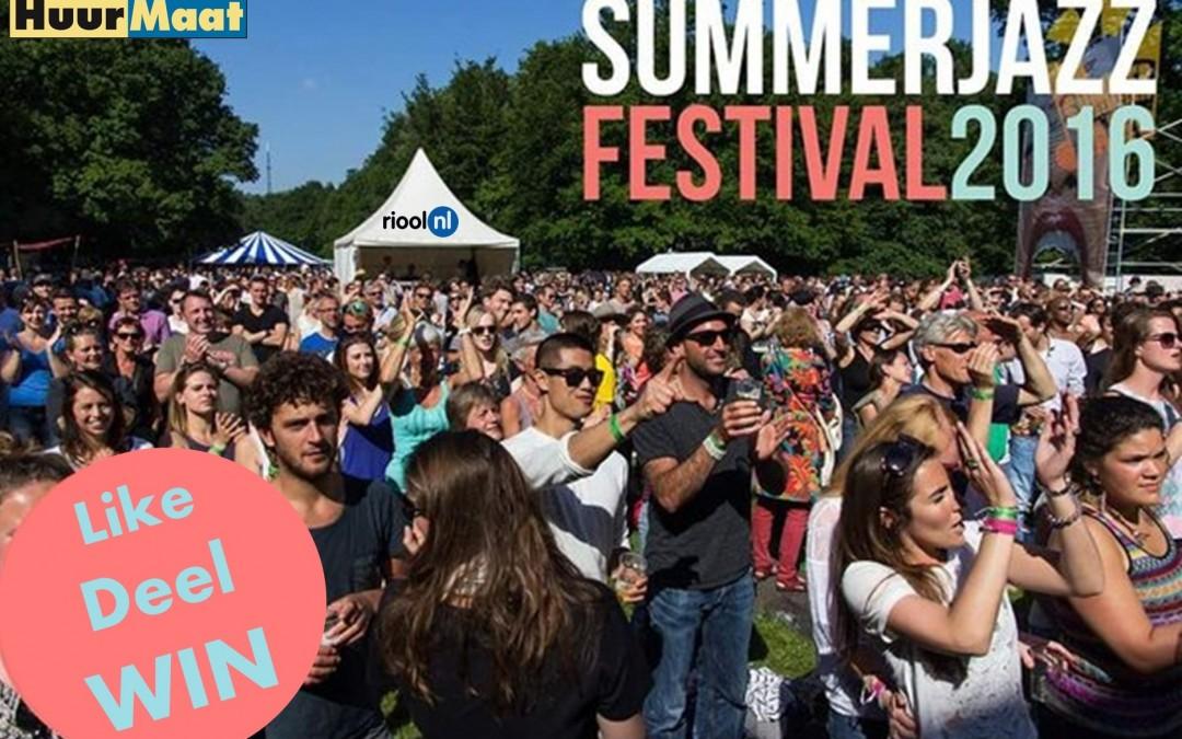 Win vrijkaarten voor Summerjazz 2016