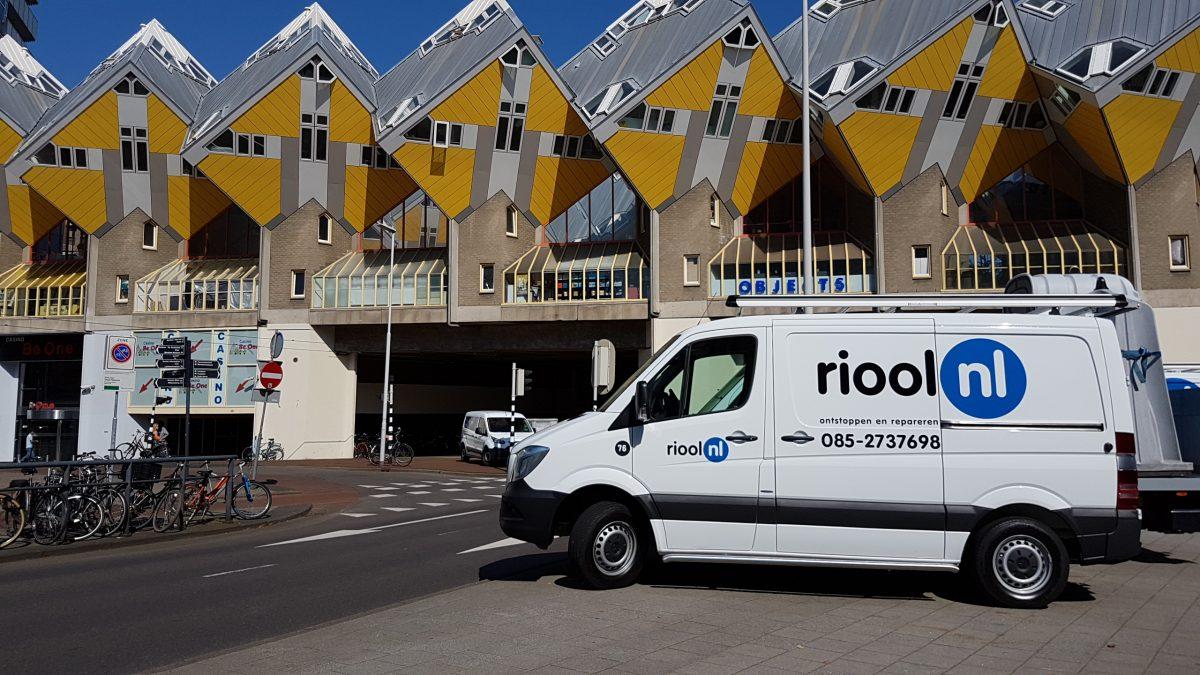 Riool verstopt Rotterdam