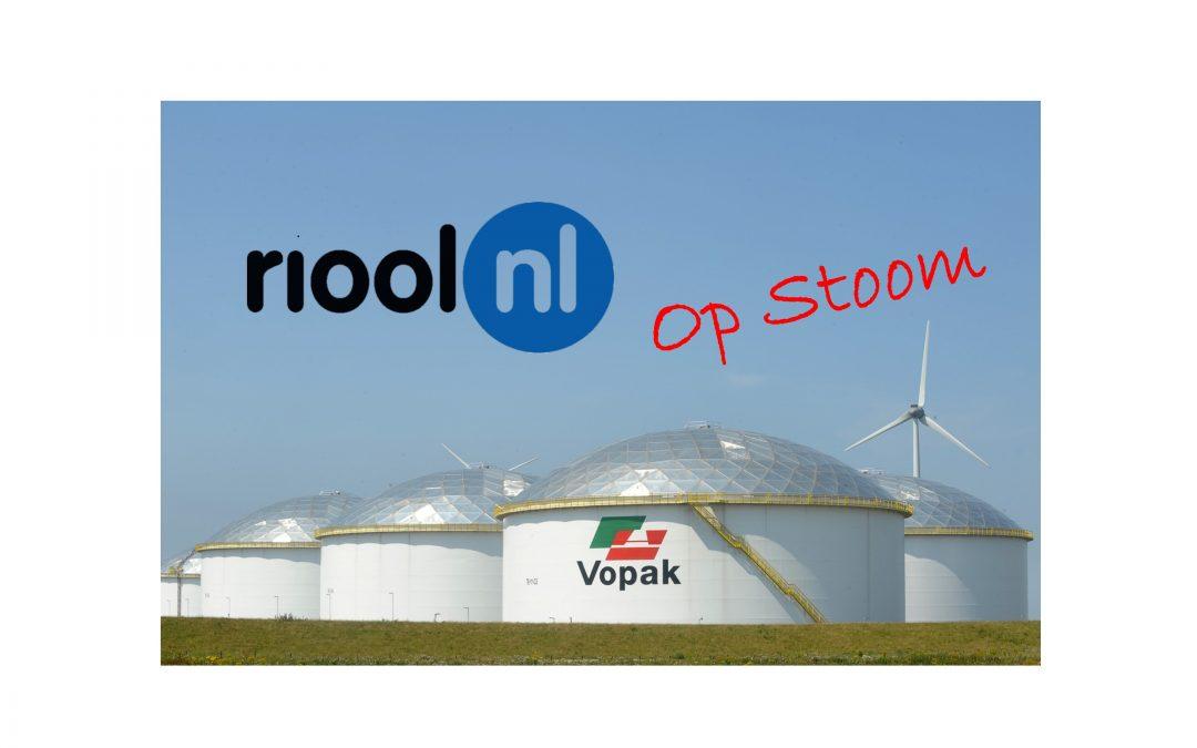 RIOOL.NL op STOOM bij VOPAK