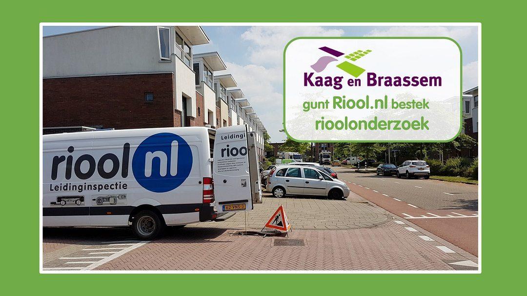 Kaag en Braassem gunt Riool.nl kwaliteitsonderzoek gemeentelijk riool