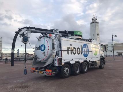 De nieuwe recycler van Riool.nl reinigt het riool Stiller, Zuiniger en Schoner