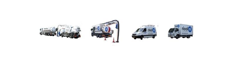 rioolwagen_zuigwagen_inspectiewagen_Dakgoot reiniging